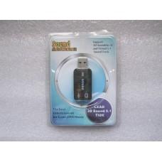 Звуковая карта USB LEAD 3D Sound 5.1 TIDE (Новое)